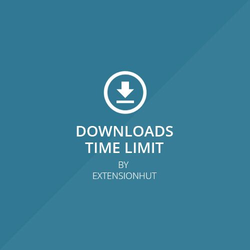Magento Extension - Downloads Time Limit